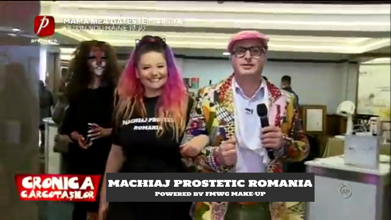 machiaj prostetic romania cosmo world exhibition dezbracatu cronica carcotasilor