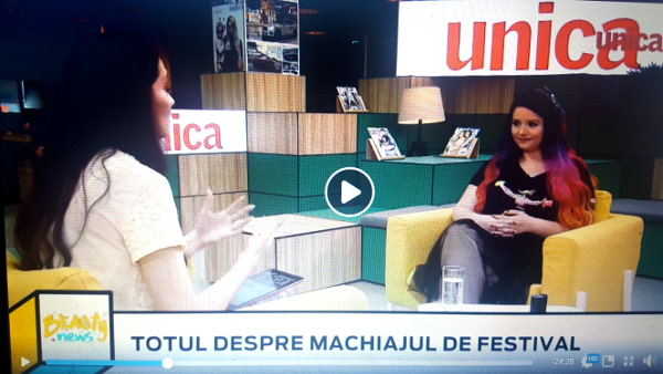machiaj de festival la revista unica machiaj prostetic romania