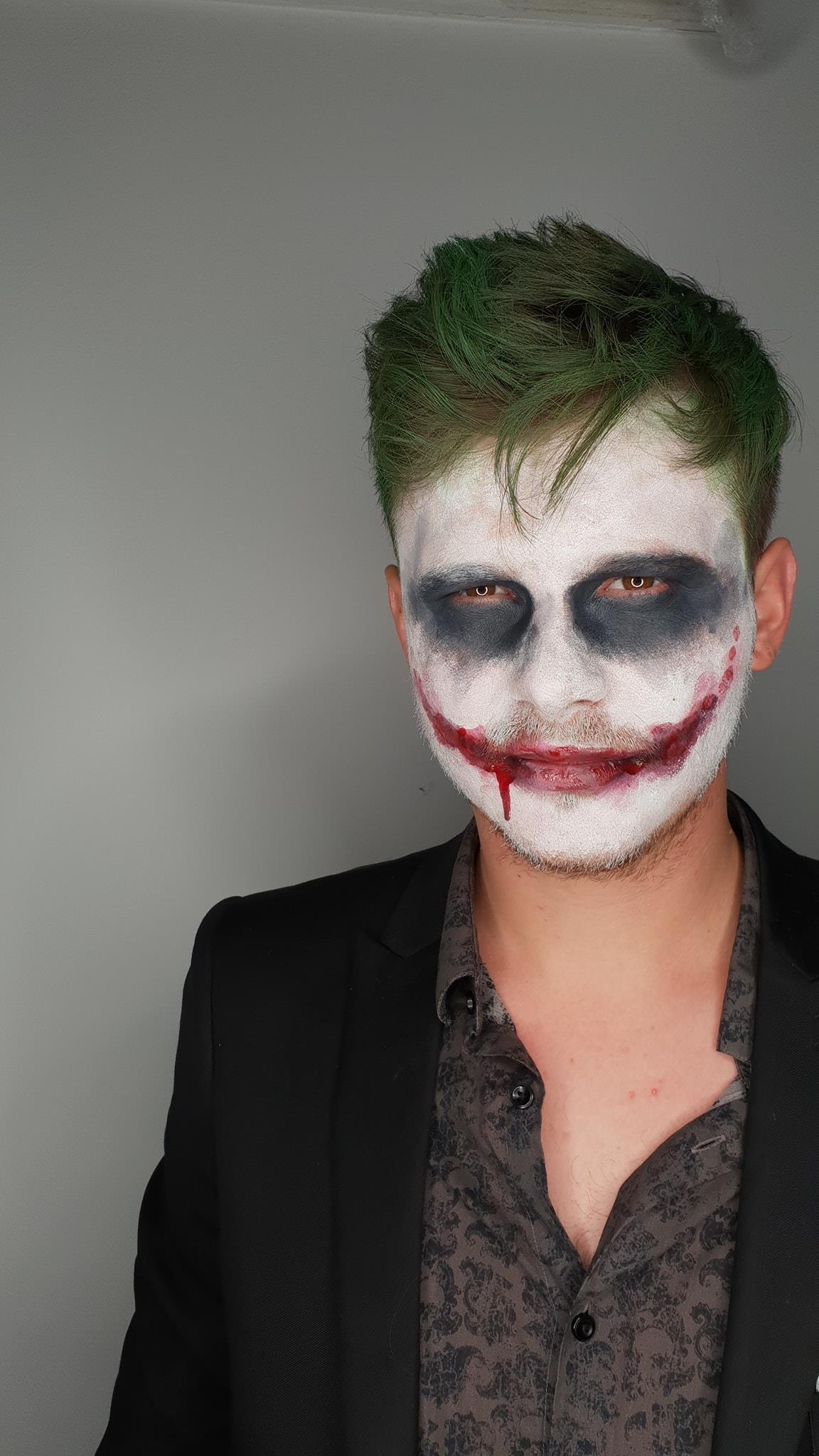 Jagermeister Halloween Party Machiaj Prostetic Romania joker