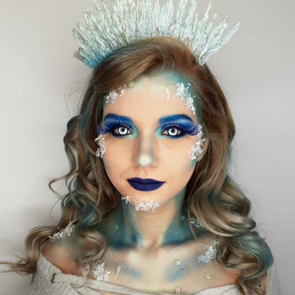 regina de gheata machiaj prostetic romania ice queen