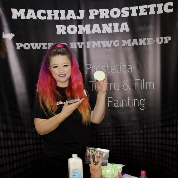 workshop Machiaj Prostetic Romania Kryolan Make-up Fest