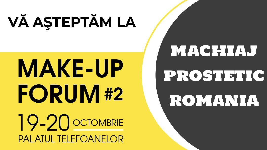 machiaj prostetic romania la makeup forum 2019